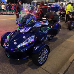Christmas Parade with my 2016 Can-Am
